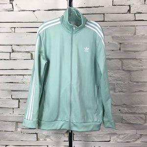 Adidas Trefoil Mint Green Track Jacket 2098